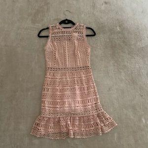 Aqua mini pink dress xs NWT
